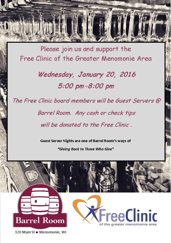 Jan 2016 Free Clinic